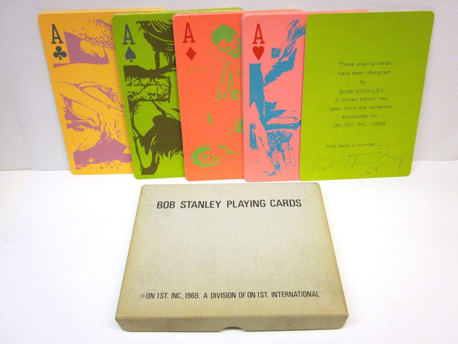 RARE Robert Bob Stanley Pop Art Erotic Playing Cards Artist Signed 1969 | eBay