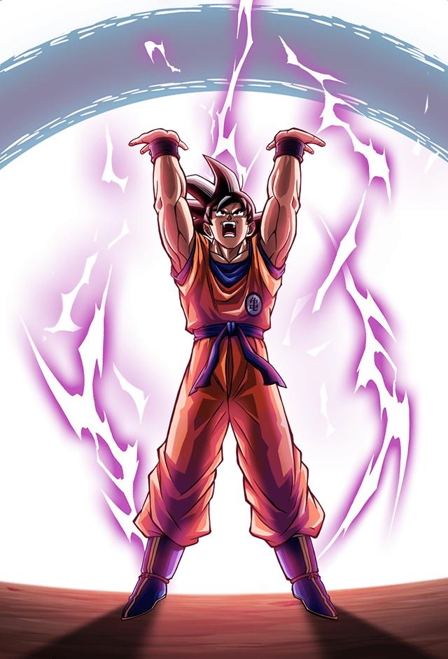 Goku Saiyan Saga Card Bucchigiri Match By Maxiuchiha22 Dragon Ball Super Manga Anime Dragon Ball Super Dragon Ball