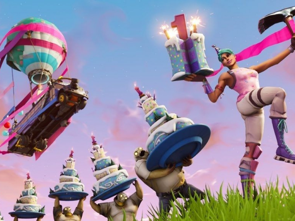 'Fortnite' celebrates its first birthday July 24 with