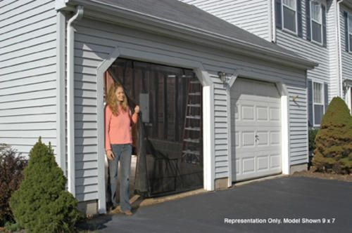 8 X 7 Single Door Garage Screen Kit At Menards Vinyl Sheds Plastic Sheds Wood Shed