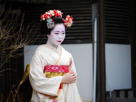 The Geiko and Maiko from Gion Higashi