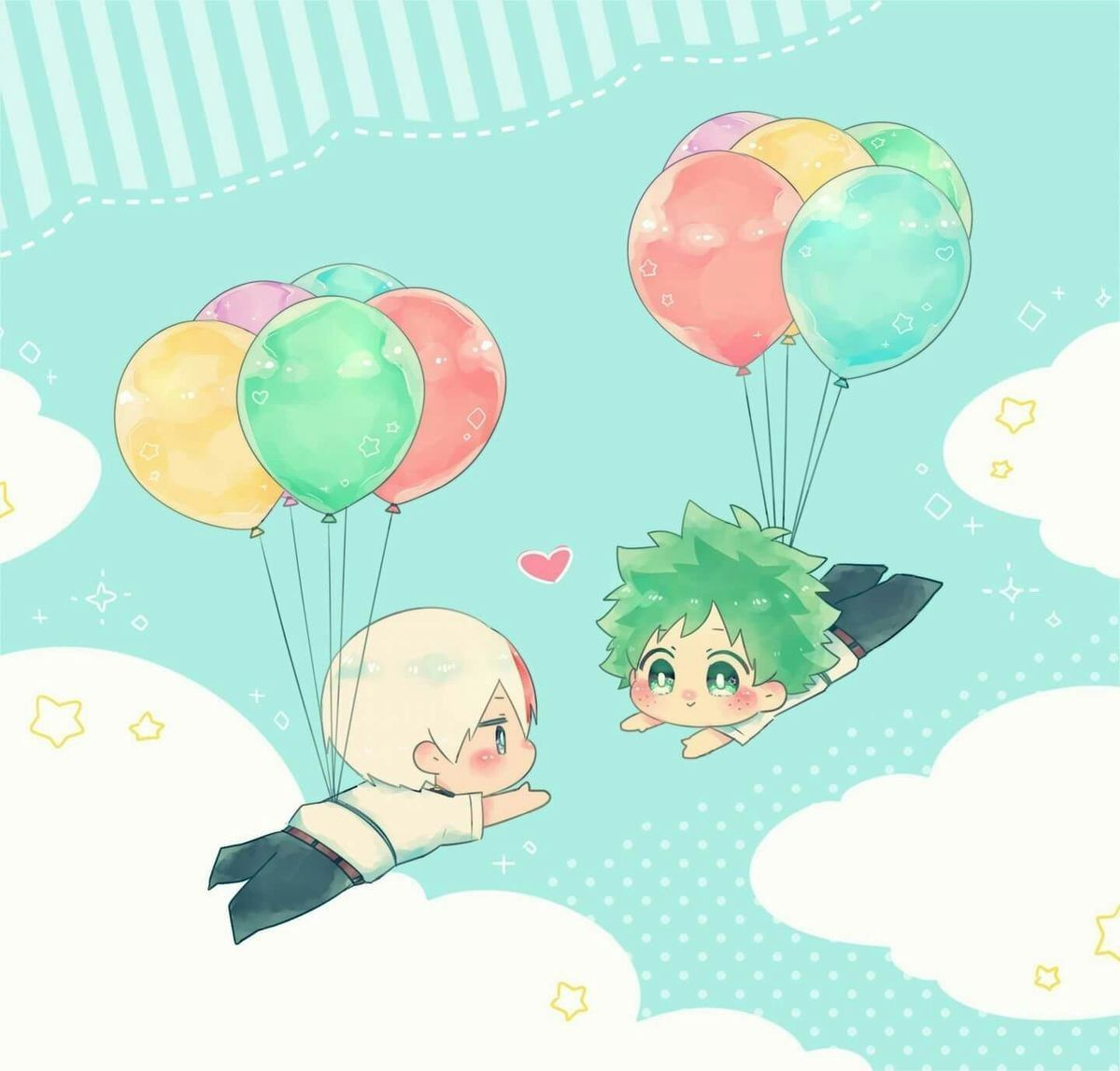 Tododeku Comics And Images 13 Chibi Maybe With Images