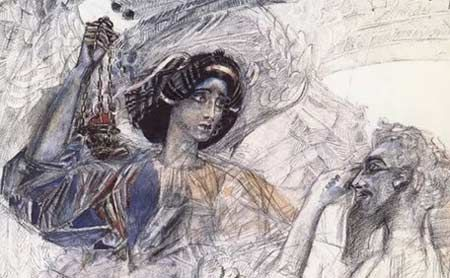 Mikhail Vrubel - Video Lessons of Drawing & Painting