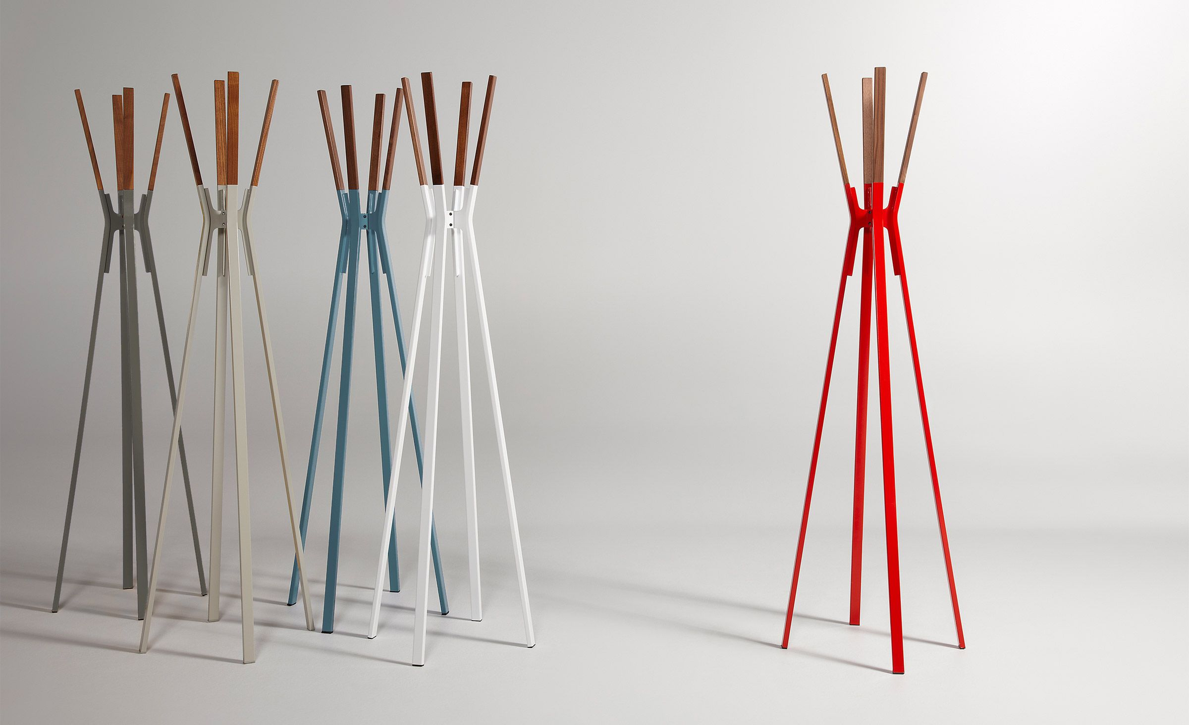 splash coat rack available in 8 colors by blu dot