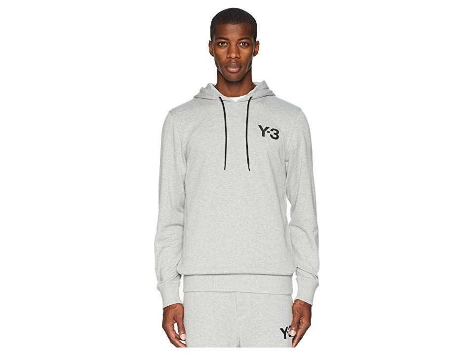 adidas Y 3 by Yohji Yamamoto Classic Hoodie Logo Front