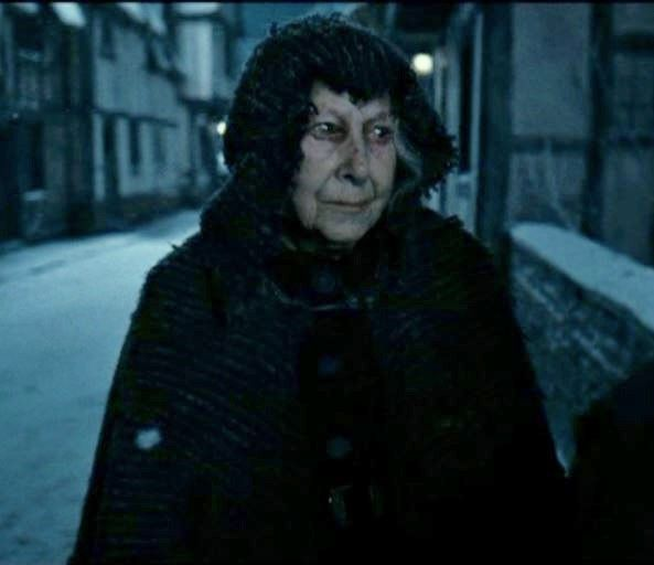 Bathilda Bagshot Harry Potter And The Deathly Hallows