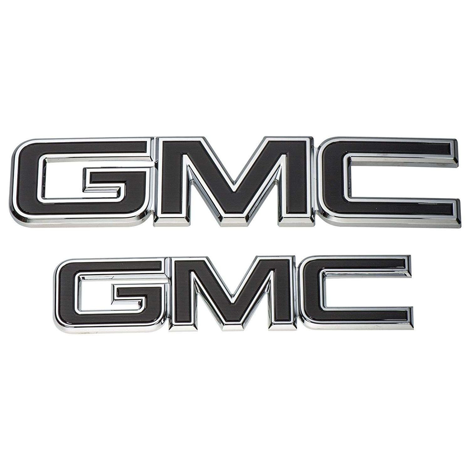Gm 84395038 Front And Rear Black Emblem Package Gmc Sierra Click Image For More Details This Is An Affiliate Link Exterior Accessories Stick Duramax