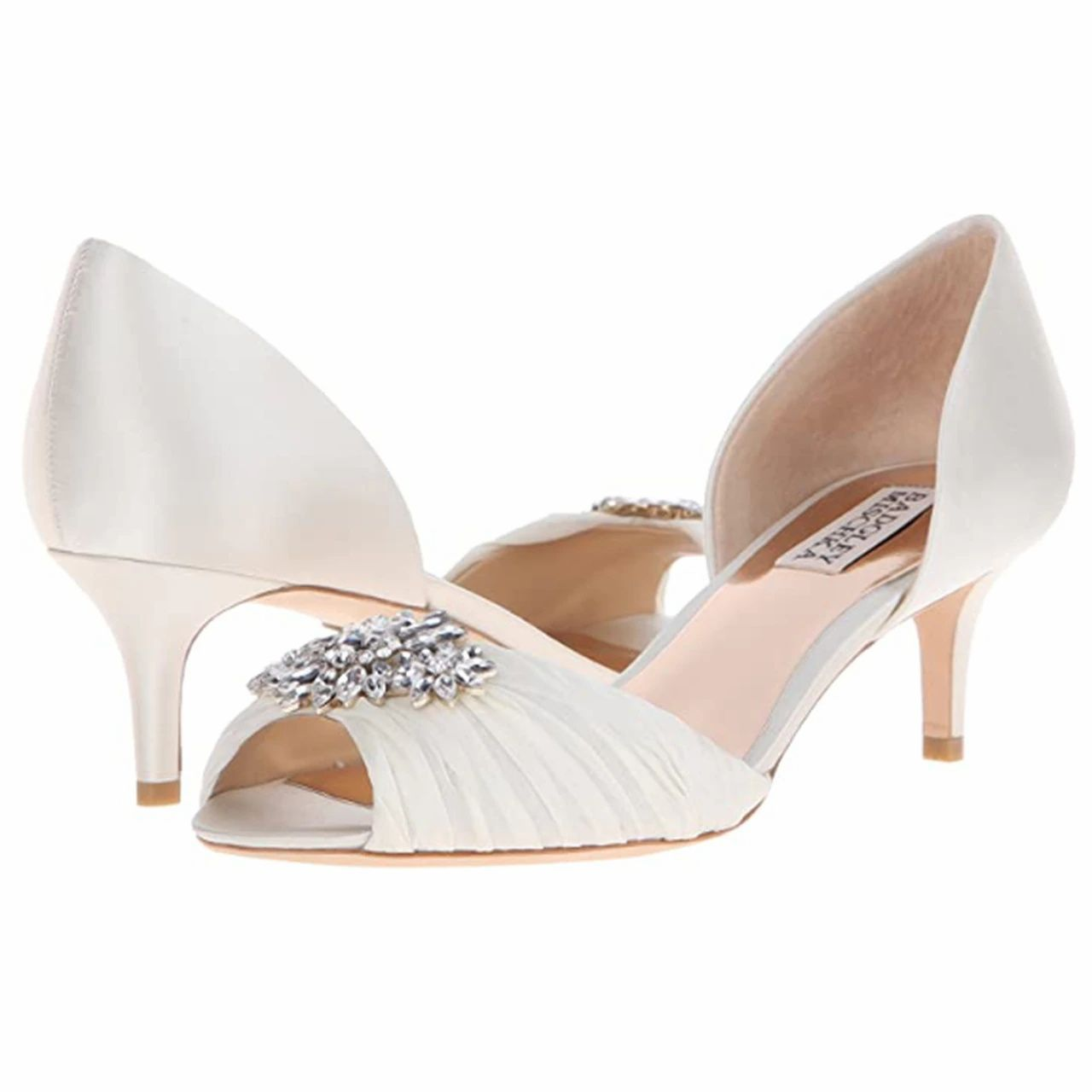 SALE Badgley MIschka Caitlin Bridal Shoes