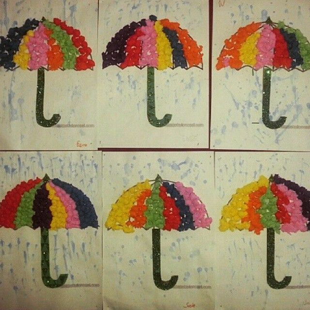 march craft ideas for kids umbrella craft idea for 1 march preschool weather 6901