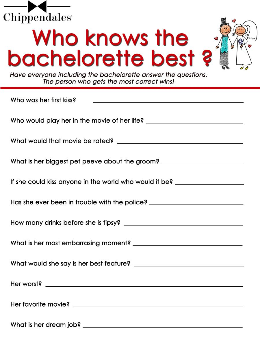 Print Bachelorette Party Goos Oh Lord To See The Answers People Would Come Up With