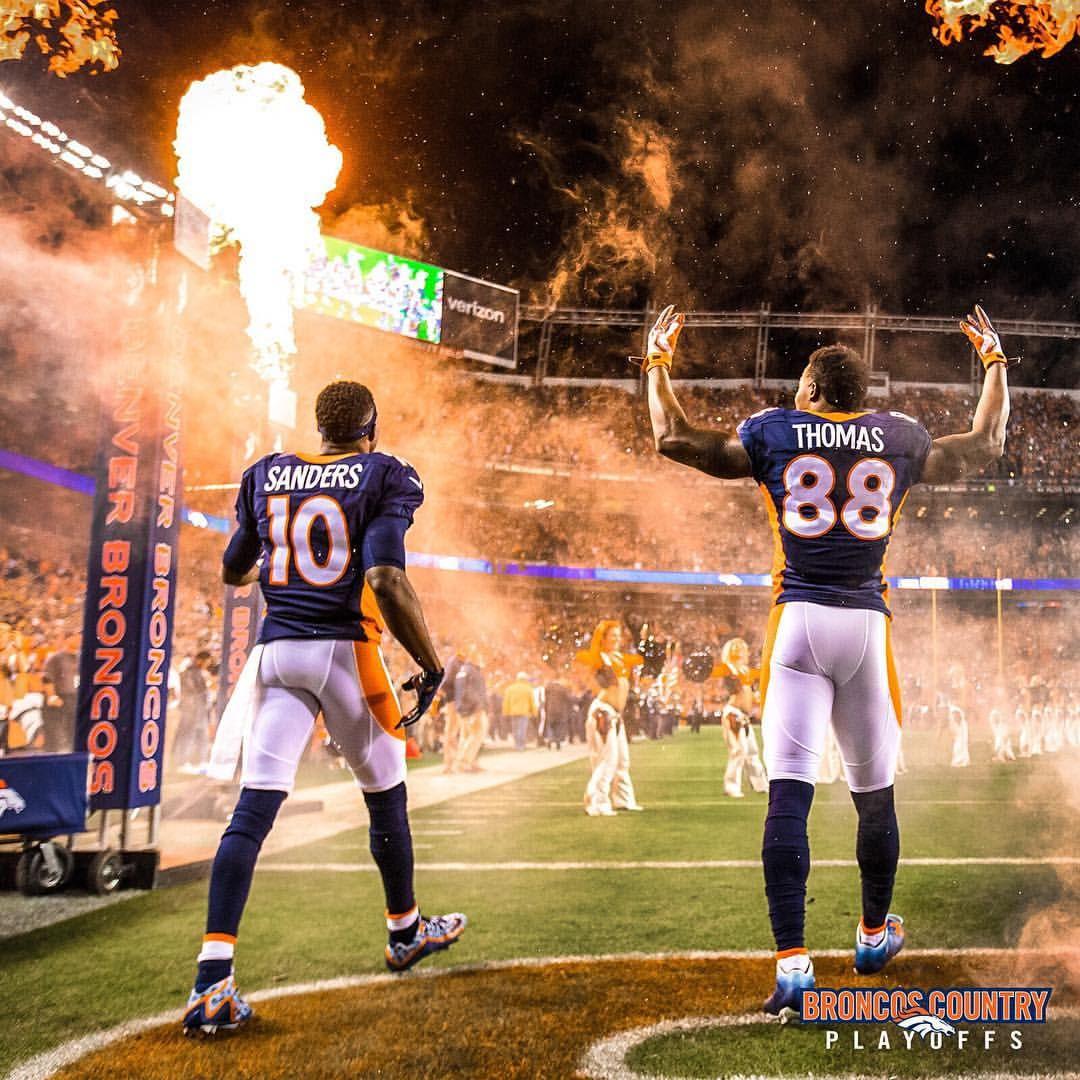Demaryius Thomas and Emmanuel Sanders Denver Broncos