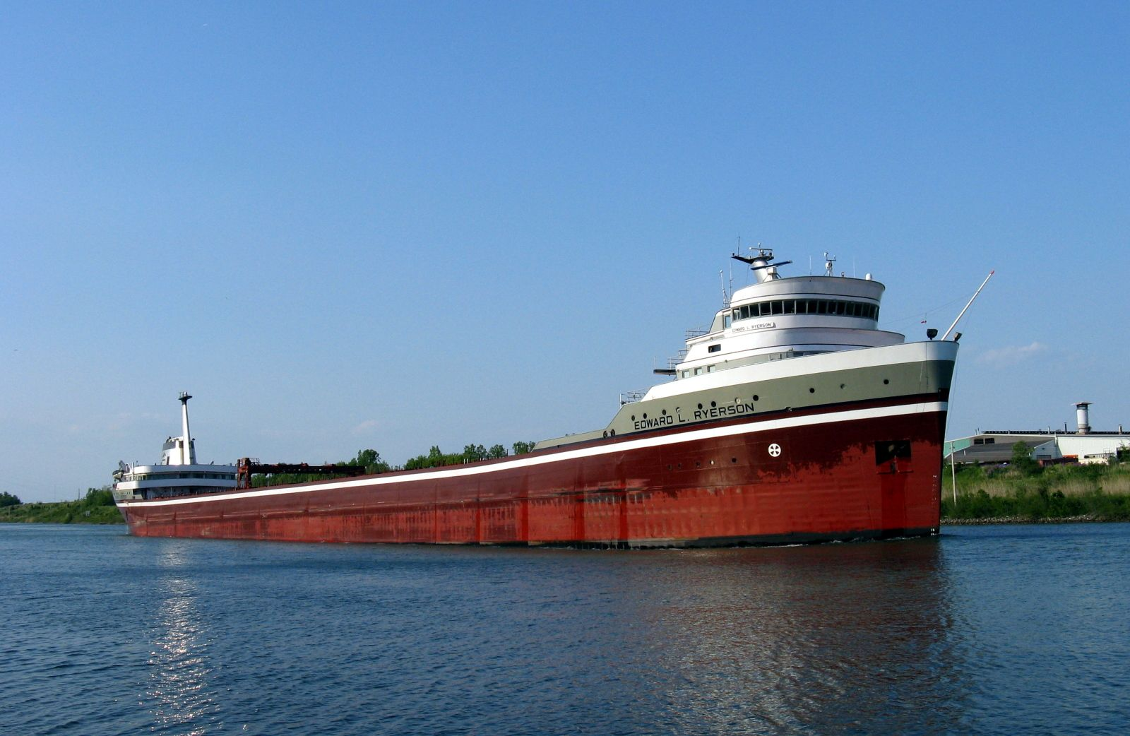 Lake freighter - Wikipedia, the free encyclopedia   Research: Osprey