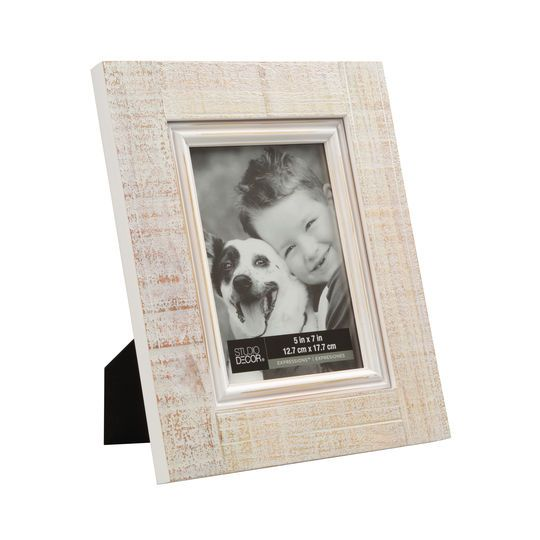 White Washed Wooden Wall Frame Cute Picture Frames Frames On