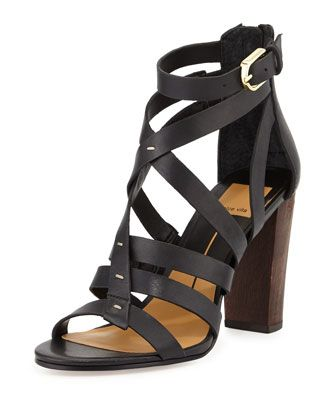 2ebf3c25b93 Nolin Strappy Leather Sandal