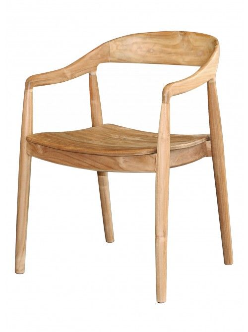 Ida Wishbone Chair, Natural