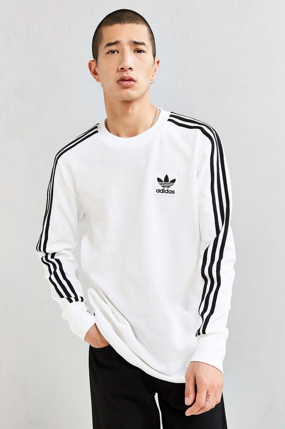 adidas Brand Waffle Long Sleeve Tee | Adidas brand