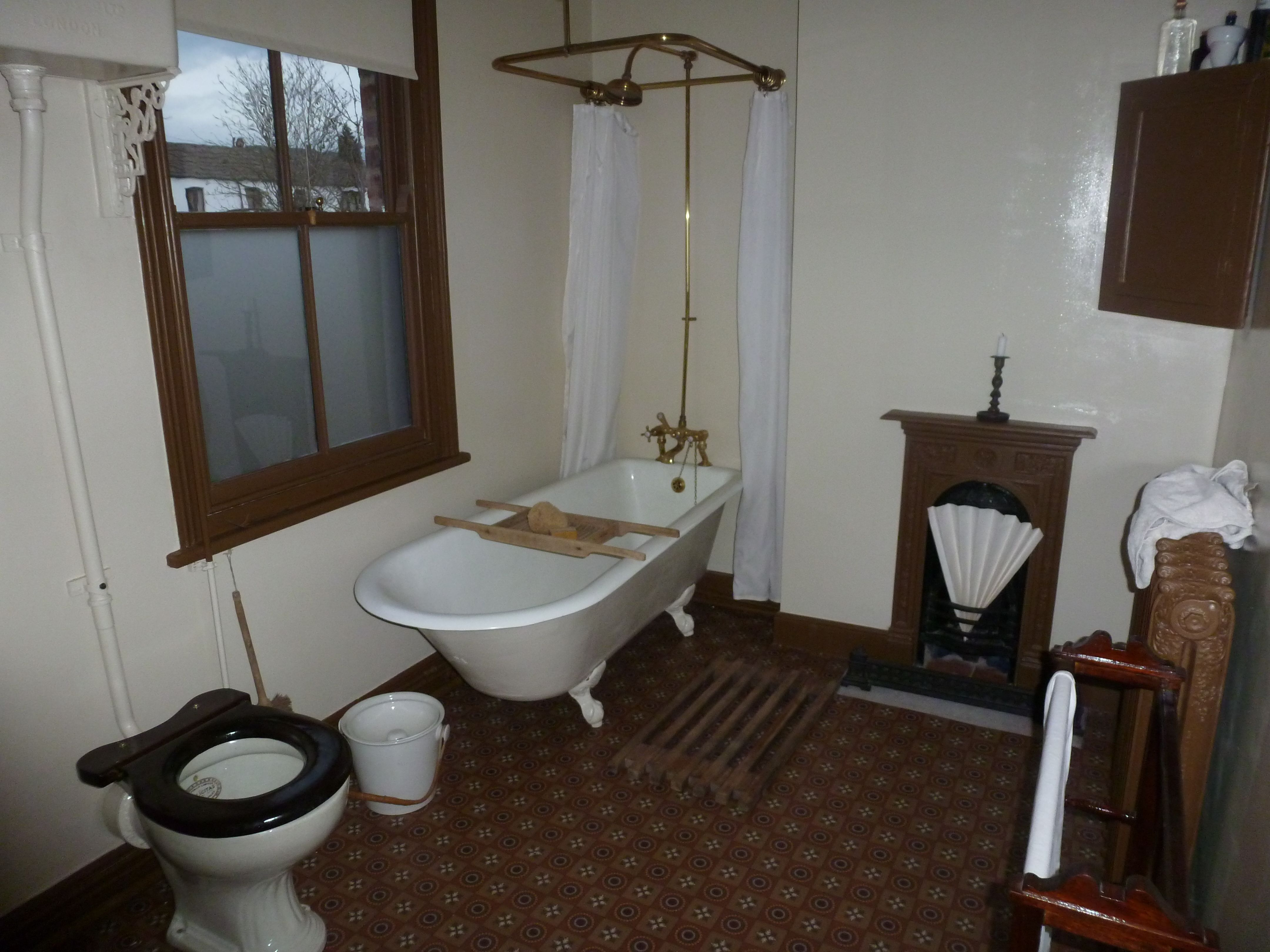 Recreation of early 1900s bathroom My VictorianEdwardian
