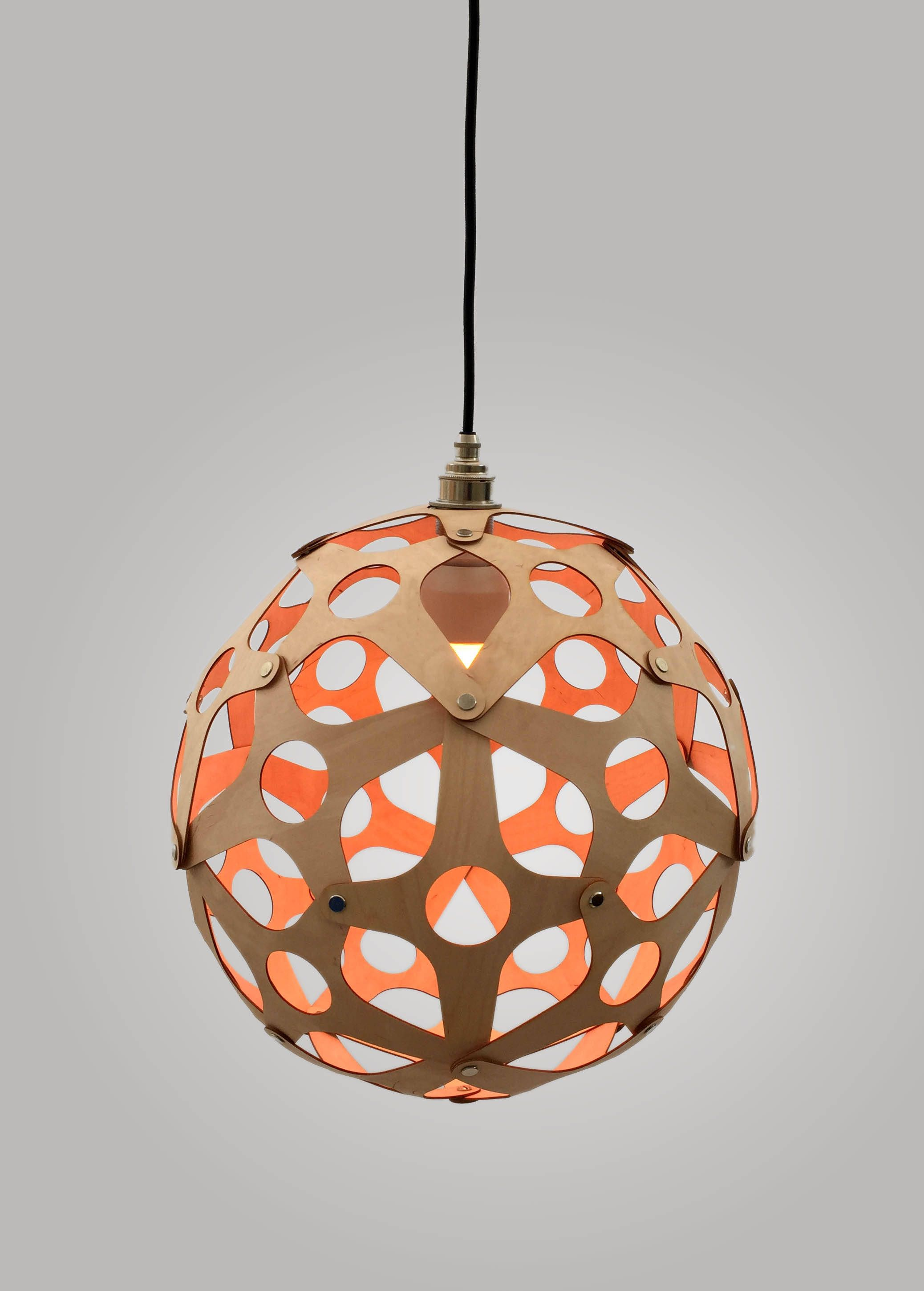 The orb contemporary wooden lampshade pendant ceiling light the orb contemporary wooden lampshade pendant ceiling light laser cut from birch ply mozeypictures Gallery