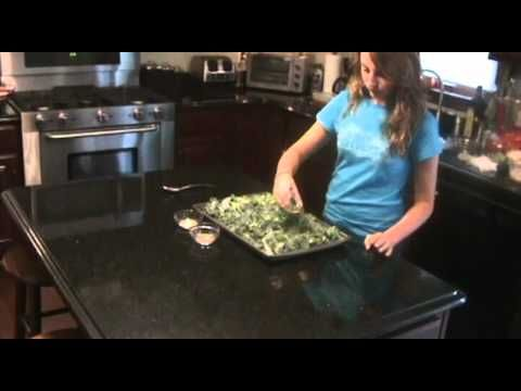 Kale Chips: From Farm to Table