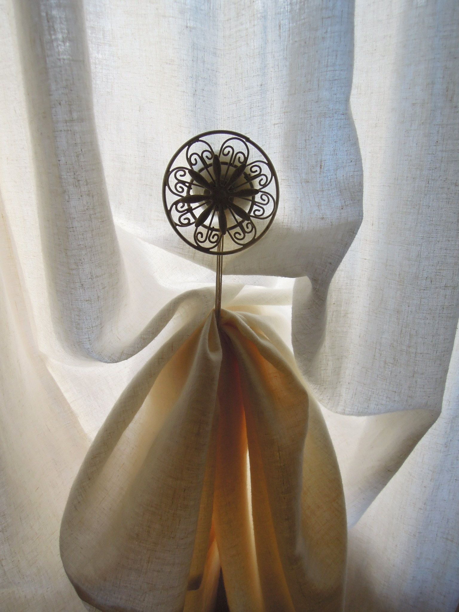 Magnetic Curtain Holdback Diy Curtains Magnetic Curtain