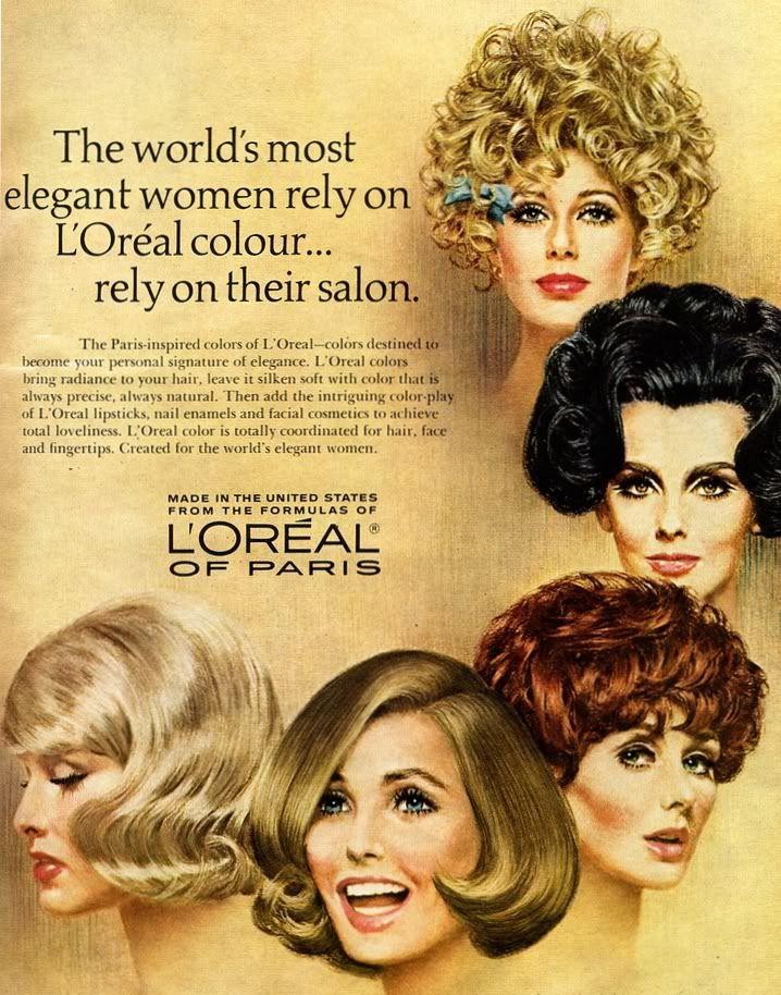 Vintage Ads 1969 Vintage Hair Salons Loreal Hair Color Loreal Hair