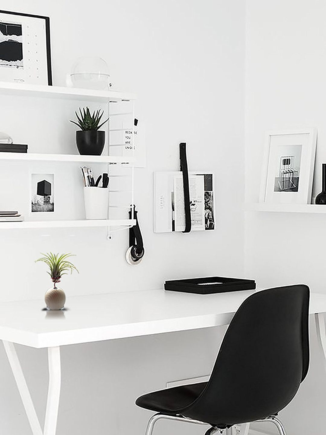 Scandinavian Home Office Design Ideas Style Minimalism Home Office Decor Minimalism Interior Interior