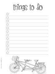 Free Printable To Do Lists 20 Free printable checklist templates to help you keep track of your to do list. You can either print the task list on one full page or set your printer to print as many copies as you want on one page.