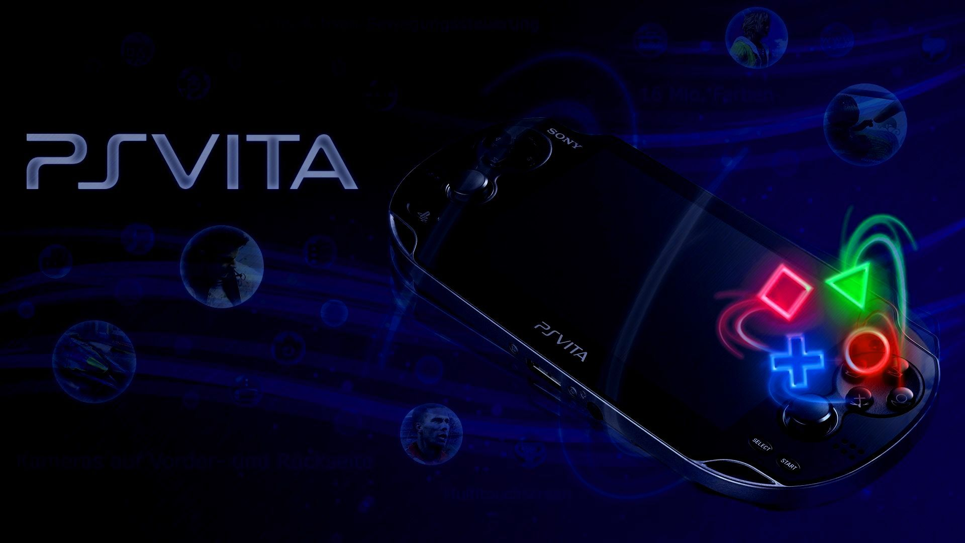 playstation vita wallpaper thread customizing dat oled screen | hd