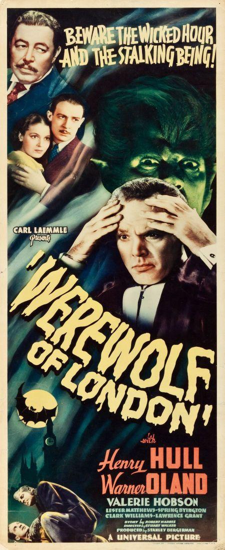 Werewolf of london universal 1935 insert 14 x 36 when werewolf of london universal 1935 insert 14 x 36 fandeluxe Images