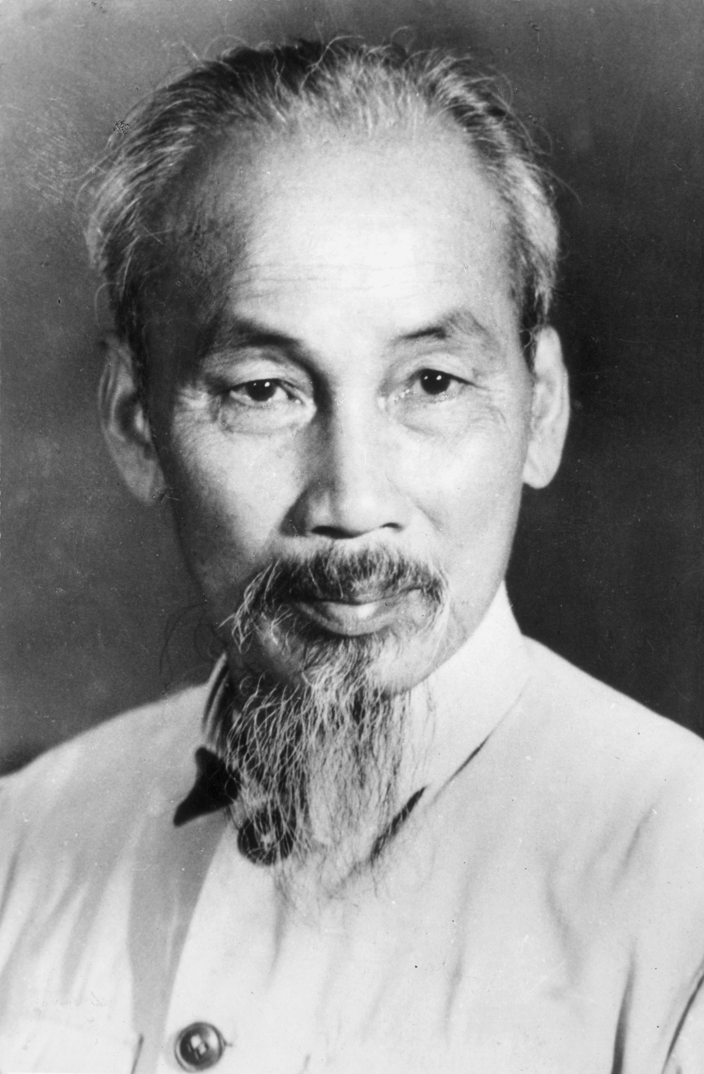 This picture is of the north Vietnamese army (NVA) leader, Ho Chi Minh.
