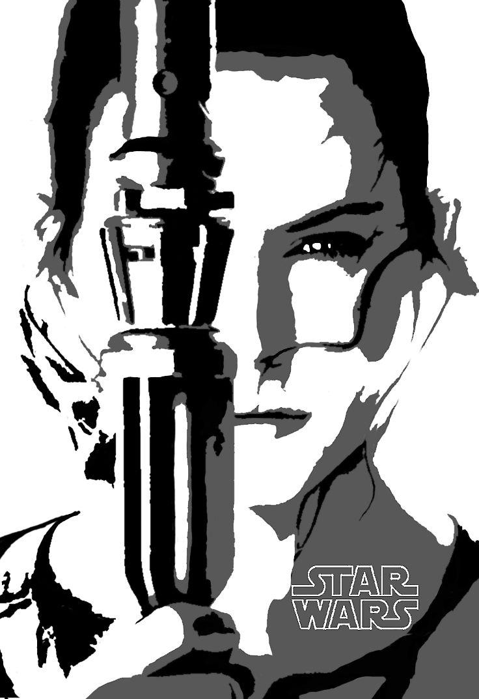 Resultado de imagem para stencil star wars | Cameo | Pinterest