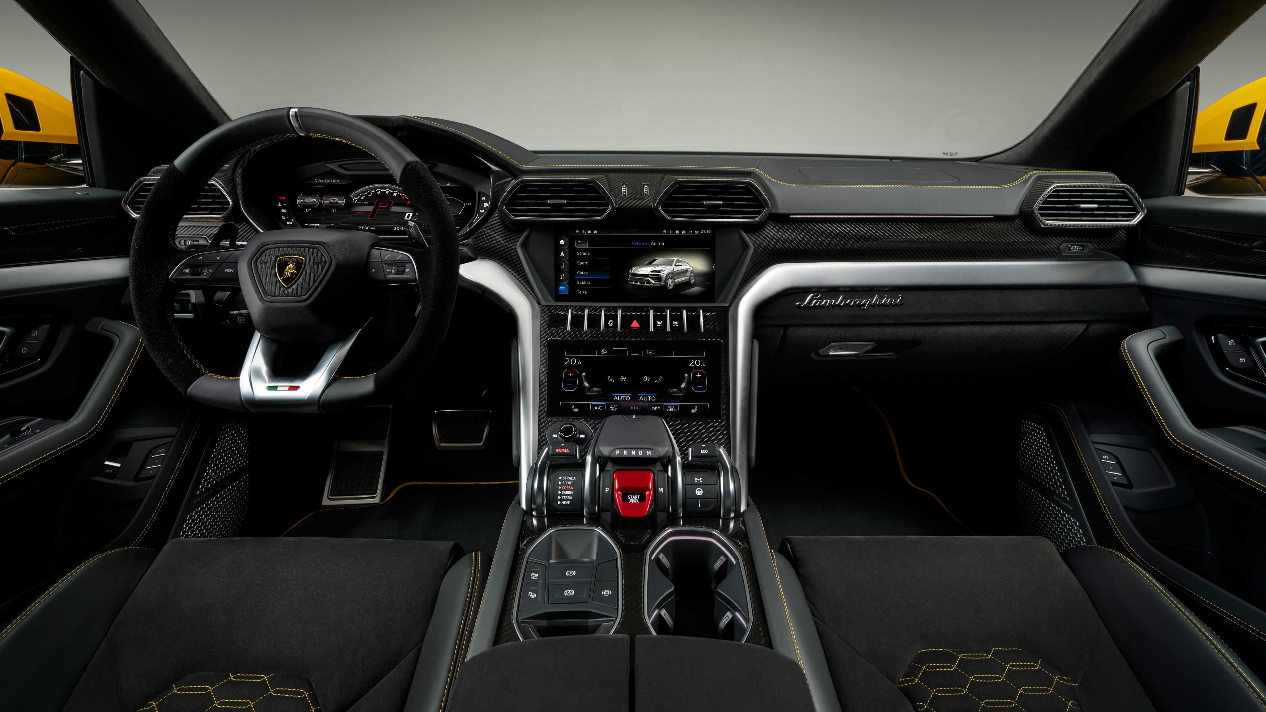 2018 Lamborghini Urus Interior 4k Wallpaper Hd Car Wallpapers Id 9219 Lamborghini Urus Interior Lamborghini Interior Truck Interior