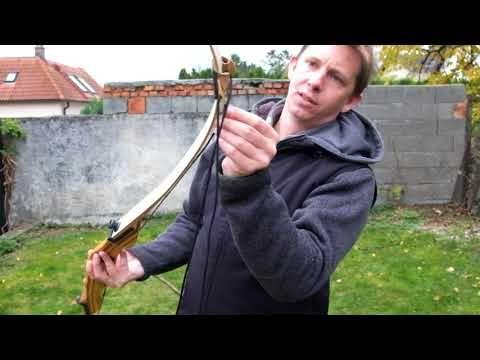 Spannschnur vs Spannen übers Bein- Die Sehne sicher auf den Bogen bekommen. - YouTube