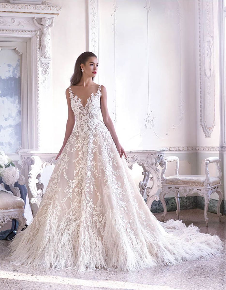 Fleur wedding dress  Platinum by Demetrios  Wedding Dress Style DP  FLEUR