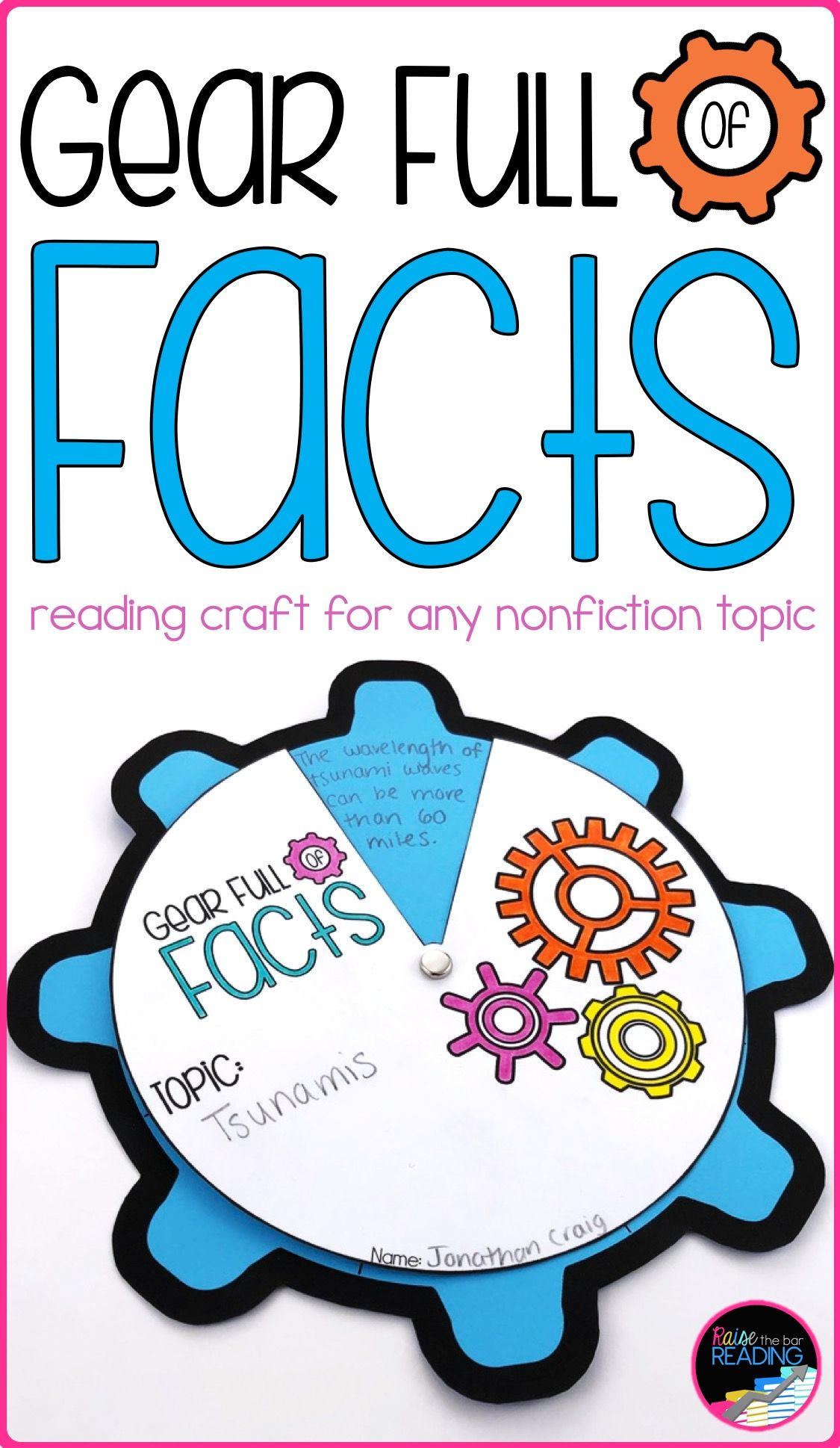 Nonfiction Reading Crafts Set 3 Nonfiction Facts And Key