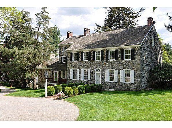 Fabulous Pa Farm House Stone Houses Colonial House House