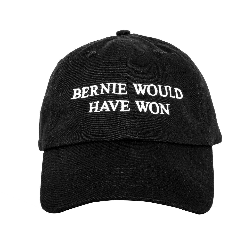 Bernie Would Have Won Dad Cap. Bernie Sanders Unstructured Baseball Hat.  Make America Great Again 359421b8f3b7