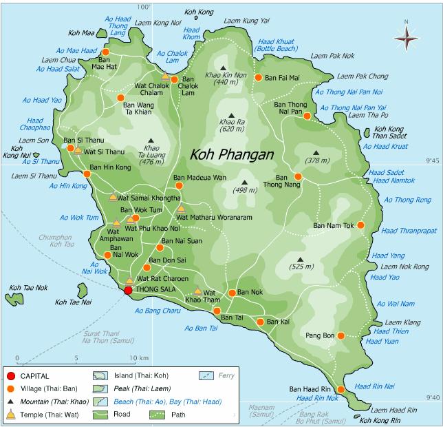 Pin by Amit Mathai on maps Pinterest Koh phangan Wanderlust and
