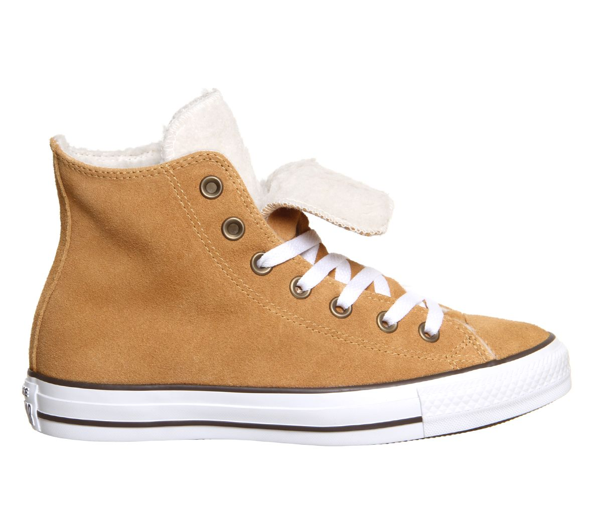 Converse All Star Hi Double Tongue Wheat Shearling Exclusive - Unisex Sports