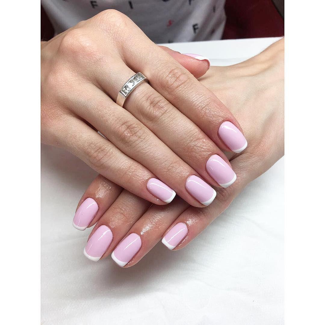 100+ Nails Art Ideas // French Nails // Fashion And Beauty Ideas ...