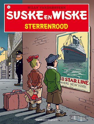 Suske en Wiske 328 - Sterrenrood  Sidonia bezoekt samen met Suske en Wiske het Red Star Line Museum. Hier vertelt ze hoe haar groottante Wiske als jong meisje in haar eentje naar New York werd gestuurd op een schip...  http://www.suskeenwiskeshop.com/hoofdreeks/suske-en-wiske-328-sterrenrood