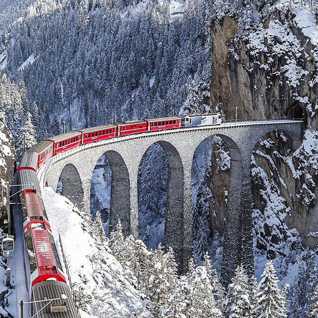 Landwasser Viaduct, Switzerland