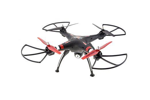 New X5SW 1 Wifi FPV dron 2.4G RC Quadcopter Drone mit HD-Kamera RTF Schwarz
