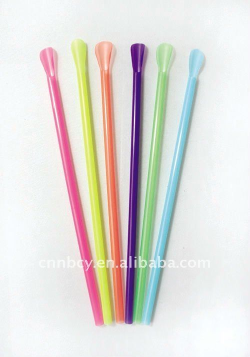 Colorful Spoon Straw Unwrapped $5~$6.5