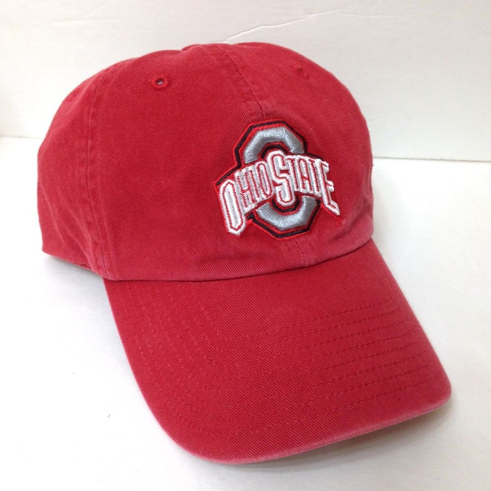 fe7a59c6d23 OHIO STATE BUCKEYES HAT Relaxed Fit Dad Cap Faded Red 47 Franchise FITTED 7  1 8  Fan1  OhioStateBuckeyes