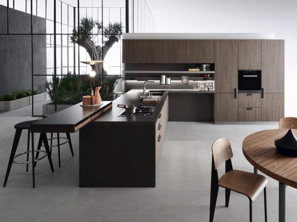 Indada Cucina Sospesa Dal Design Moderno Cucine Dada Con