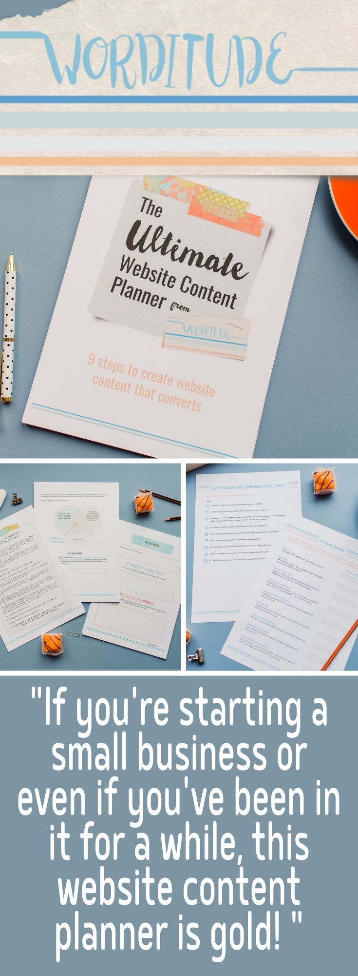 The Ultimate Website Content Planner - A workbook and templates to ...