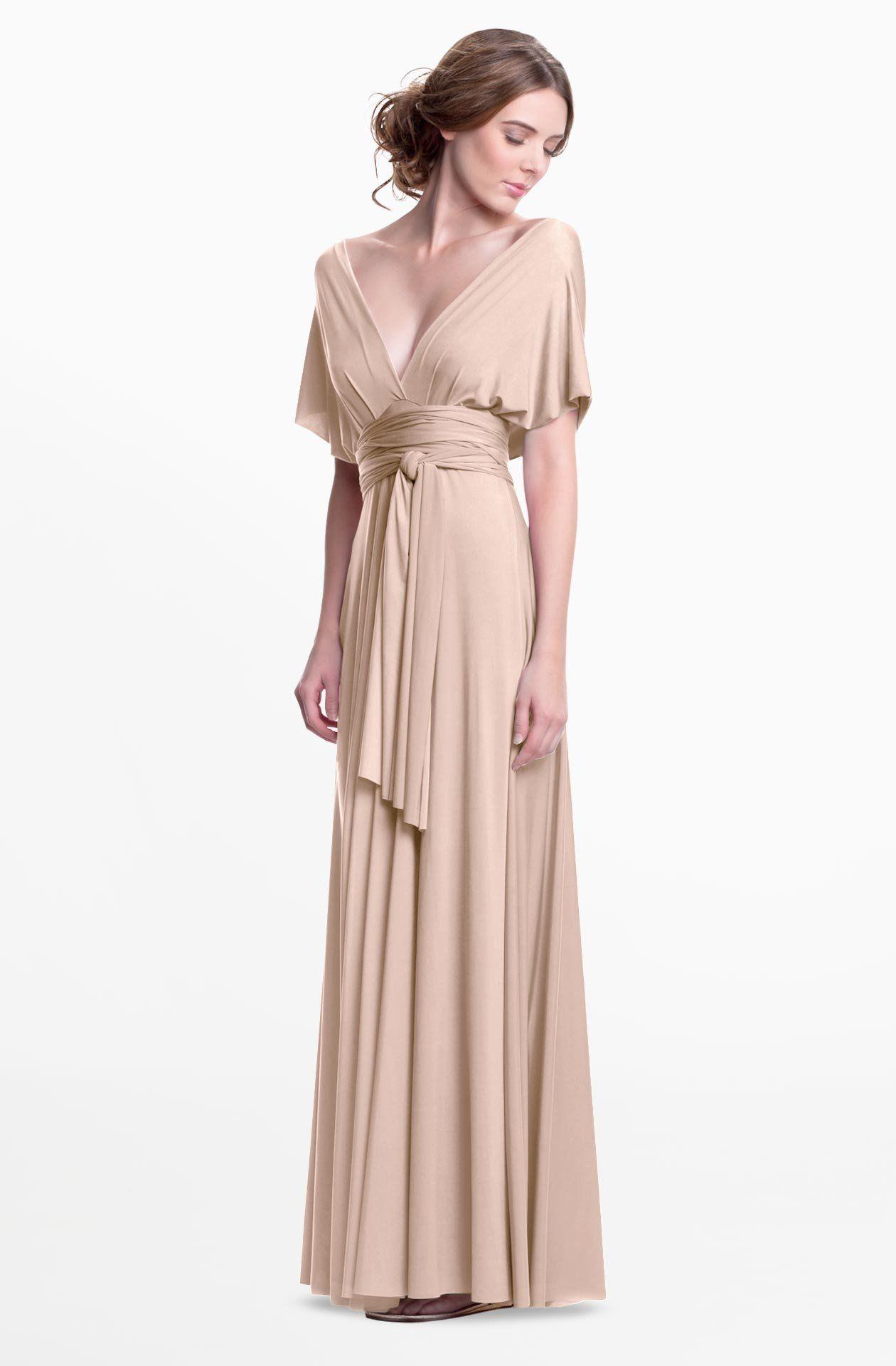Sakura Maxi Convertible Dress - Made to Order | Pinterest