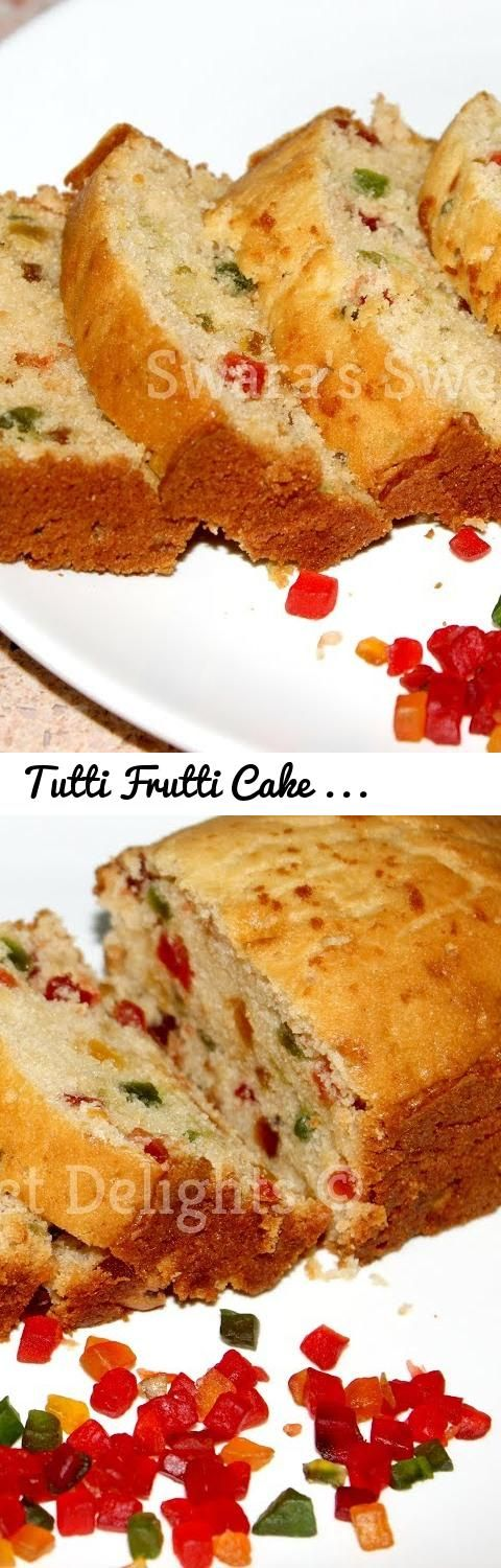 Tutti Frutti Cake Eggless Recipe Without Oven Without Condensed Milk Tutti Fruity Cake For Kids Tags Egg Eggless Recipes Fruity Cake Gluten Free Fruit Cake