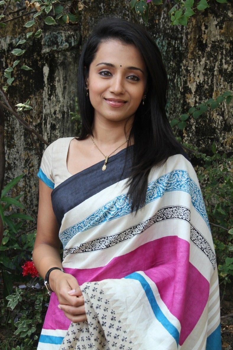 trisha in saree vtv - Google Search  72868fee161